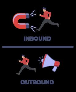 Inbound vs outbound comparación