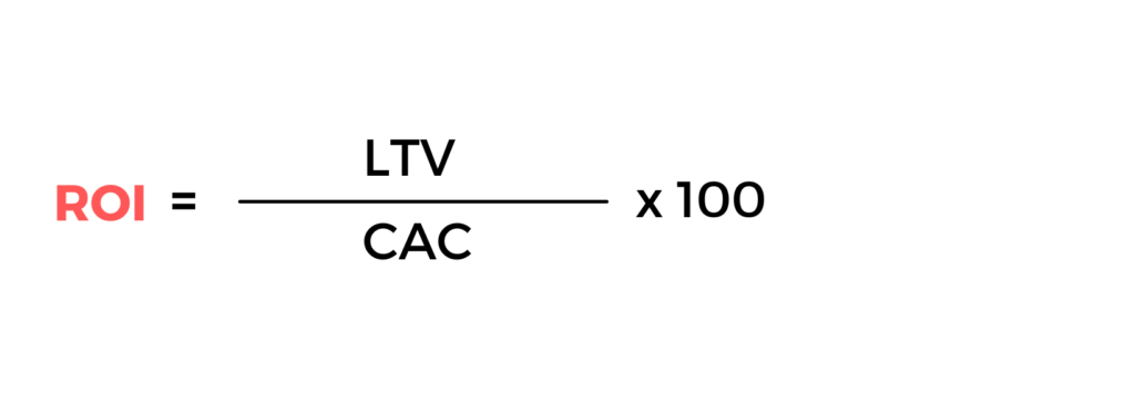 Fórmula calcular ROI