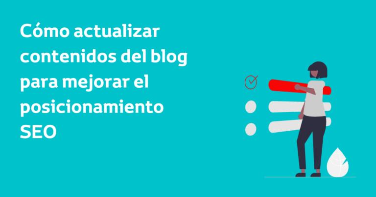 Actualizar blog para mejorar SEO